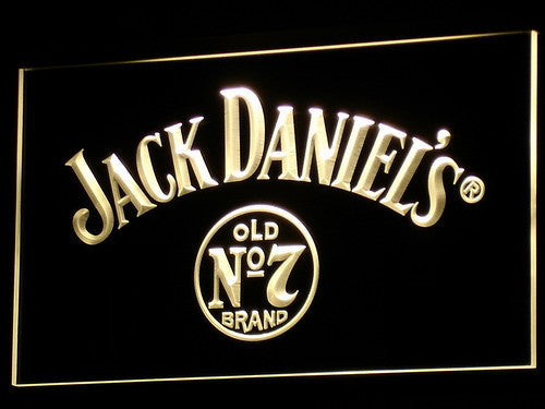 Jack Daniel's Whiskey LED Neon Sign with On/Off Switch 7 Colors to choose