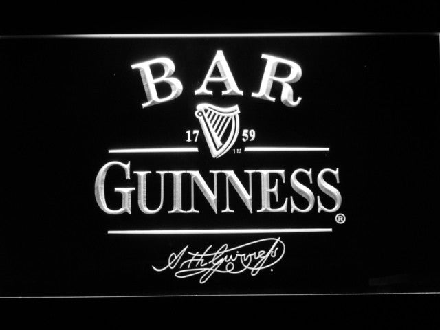 Guinness BAR Beer LED Sign