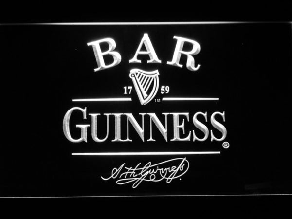 Guinness BAR  Beer LED Neon Sign with On/Off Switch 7 Colors to choose
