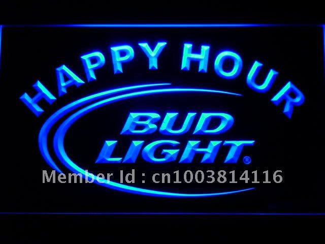 Bud Light Happy Hour LED Sign -  - TheLedHeroes