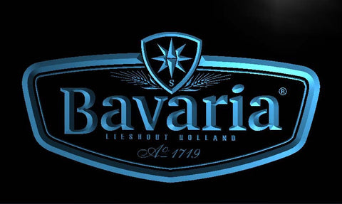 Bavaria Beer LED Sign - Blue - TheLedHeroes