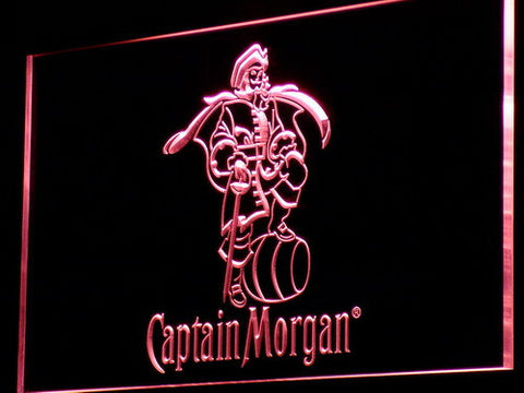 Captain Morgan Spiced Rum Bar Plastic Crafts LED Sign