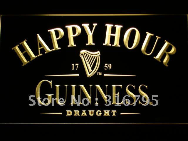 Guinness Happy Hour Bar LED Sign -  - TheLedHeroes