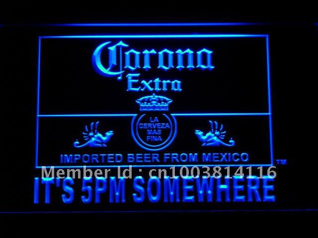 Corona Beer It's 5 pm Somewhere LED Sign -  - TheLedHeroes