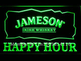 Jameson Irish Whiskey Happy Hour Bar LED Sign
