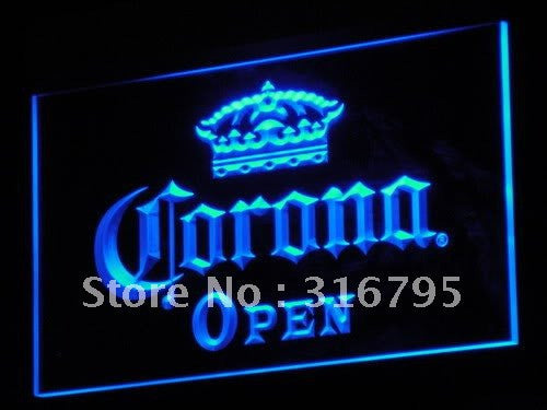Corona Beer OPEN Pub Bar Club NR LED Sign -  - TheLedHeroes