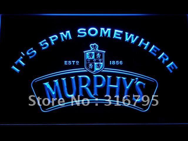 Murphy's Beer It's 5 pm Somewhere LED Sign -  - TheLedHeroes