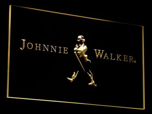 Johnnie Walker LED Sign - Multicolor - TheLedHeroes