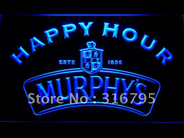 Murphy's Happy Hour Beer Bar LED Sign -  - TheLedHeroes