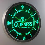 Guinness Vintage Logo Beer Bar LED Wall Clock -  - TheLedHeroes