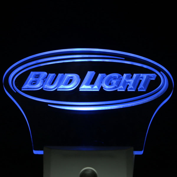 Bud Light Bar Beer Decor Day/ Night Sensor LED Night Light  Sign