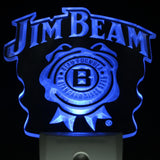 Jim Beer Bar Day/ Night Sensor Led Night Light Sign