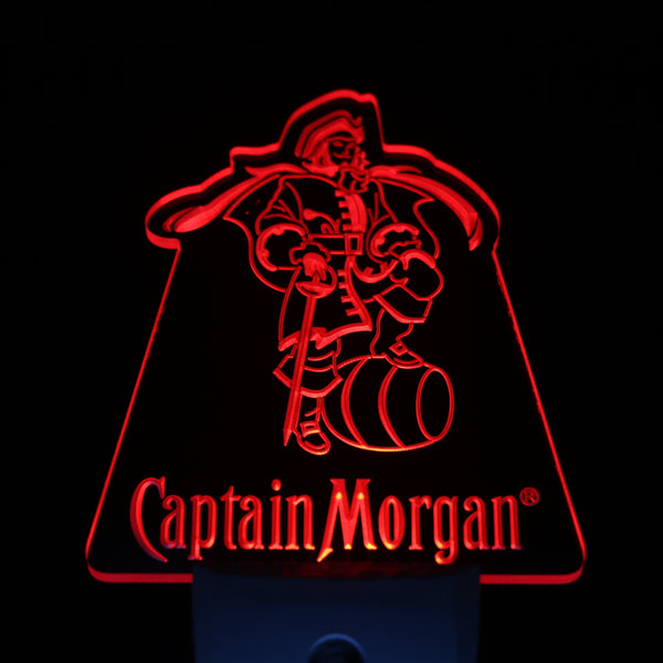 Captain Morgan Beer Day/ Night Sensor Led Night Light Sign