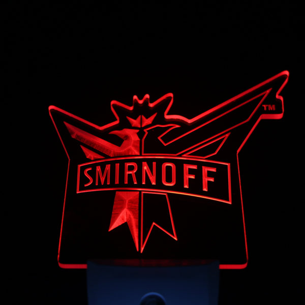 Smirnoff Beer Day/ Night Sensor Led Night Light Sign