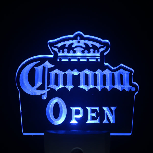 Corona OPEN Beer Day/ Night Sensor Led Night Light Sign