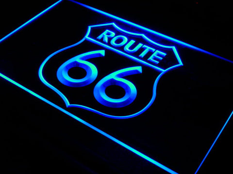 Route 66 Mother Road LED Sign