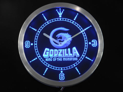 Godzilla King of the Monsters LED Wall Clock -  - TheLedHeroes