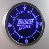 Busch Light Beer LED Wall Clock -  - TheLedHeroes