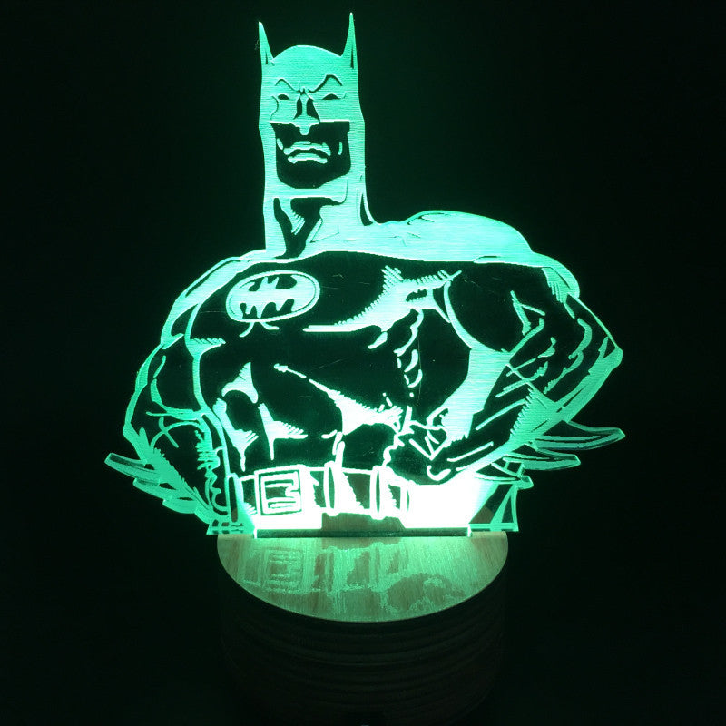 Batman 3D LED LAMP -  - TheLedHeroes