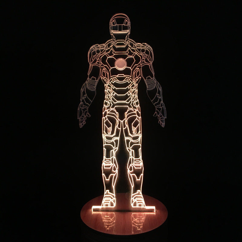 Iron Man Suit 3D LED LAMP -  - TheLedHeroes