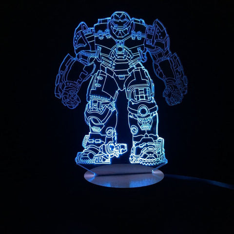 Hulkbuster 3D LED LAMP