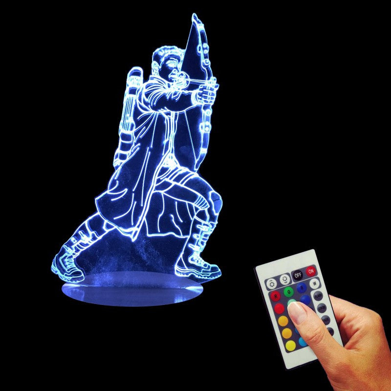 Hawkeye 3D LED LAMP -  - TheLedHeroes