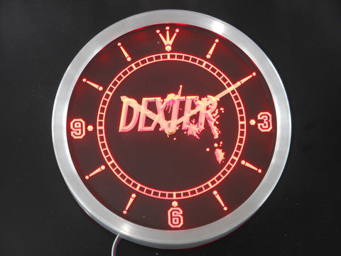 Dexter Morgan LED Wall Clock -  - TheLedHeroes