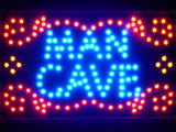 FREE Man Cave Garage Room Led Sign -  - TheLedHeroes