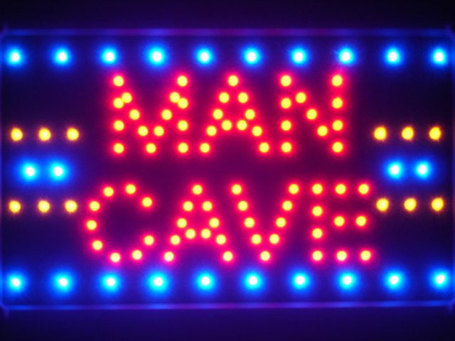 Man Cave Room Basement Den Led Sign -  - TheLedHeroes