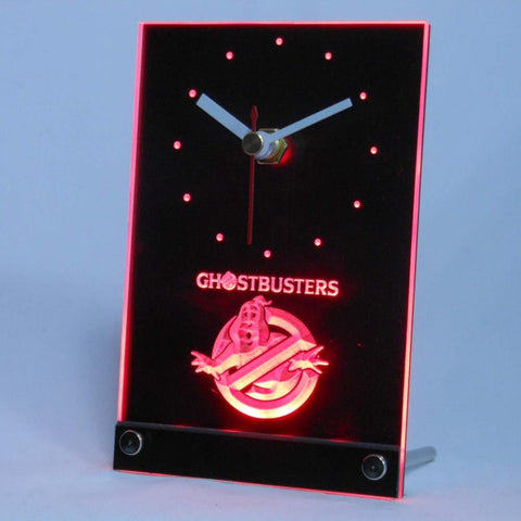 Ghostbusters Table Desk 3D LED Clock