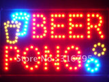 Beer Pong Bar Pub LED Business Sign -  - TheLedHeroes