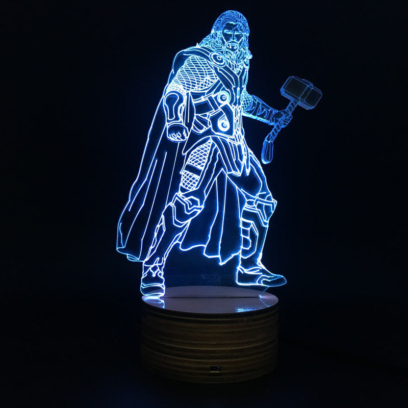 Thor 3D LED LAMP -  - TheLedHeroes