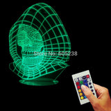 Skeleton 3D LED LAMP -  - TheLedHeroes