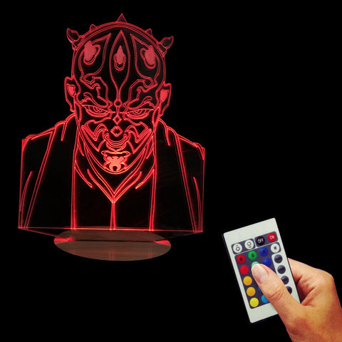 Darth Maul 3D LED LAMP -  - TheLedHeroes