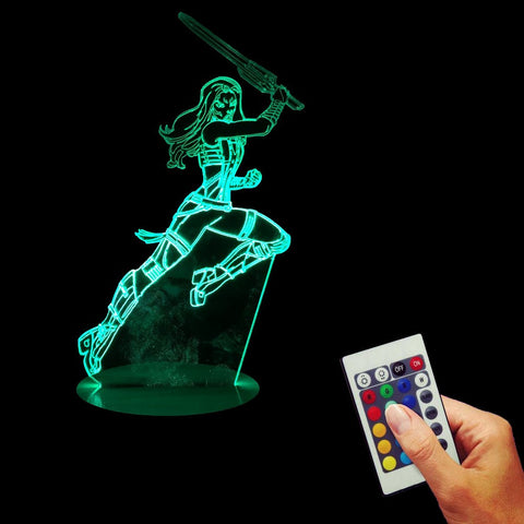 Gamora 3D LED LAMP