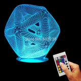 Cappio 3D LED LAMP -  - TheLedHeroes