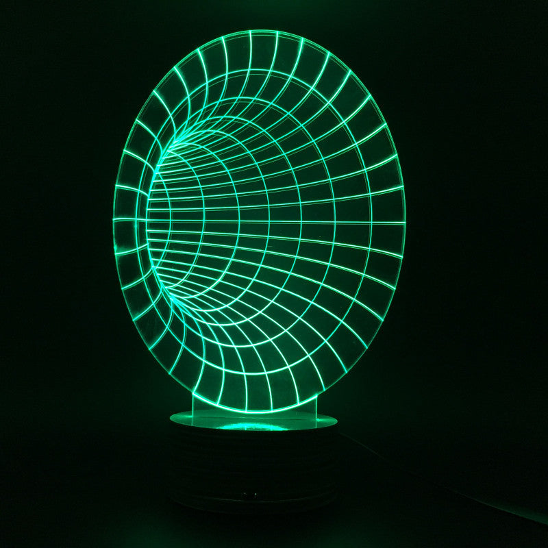 Time Tunnel 3D LED LAMP -  - TheLedHeroes