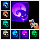 Nightmare Before Christmas 3D LED LAMP -  - TheLedHeroes