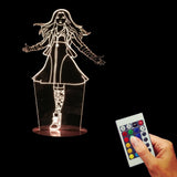 The Witch 3D LED LAMP -  - TheLedHeroes