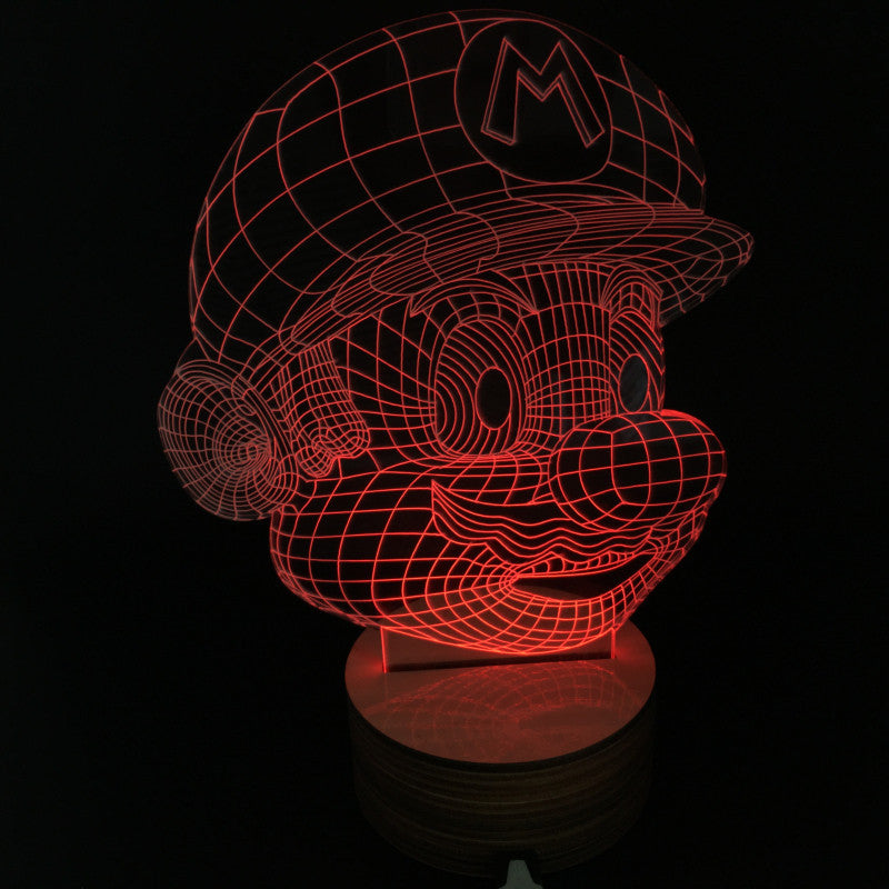 Super Mario 3D LED LAMP -  - TheLedHeroes