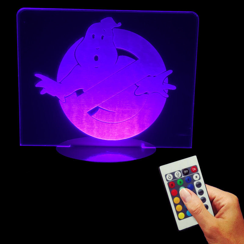 Ghostbusters 3D LED LAMP -  - TheLedHeroes