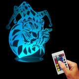 Joker Clown 3D LED LAMP -  - TheLedHeroes