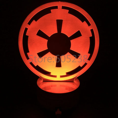 Imperial Emblem 3D LED LAMP -  - TheLedHeroes