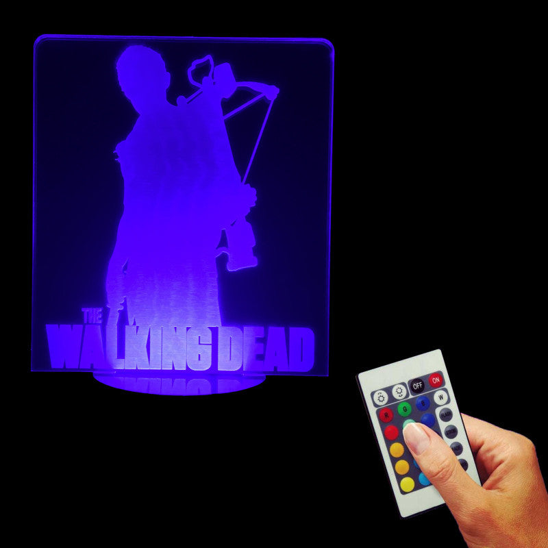 The Walking Dead 3D LED LAMP