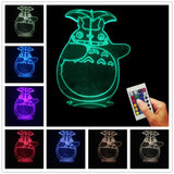 My Neighbor Totoro 3D LED LAMP -  - TheLedHeroes