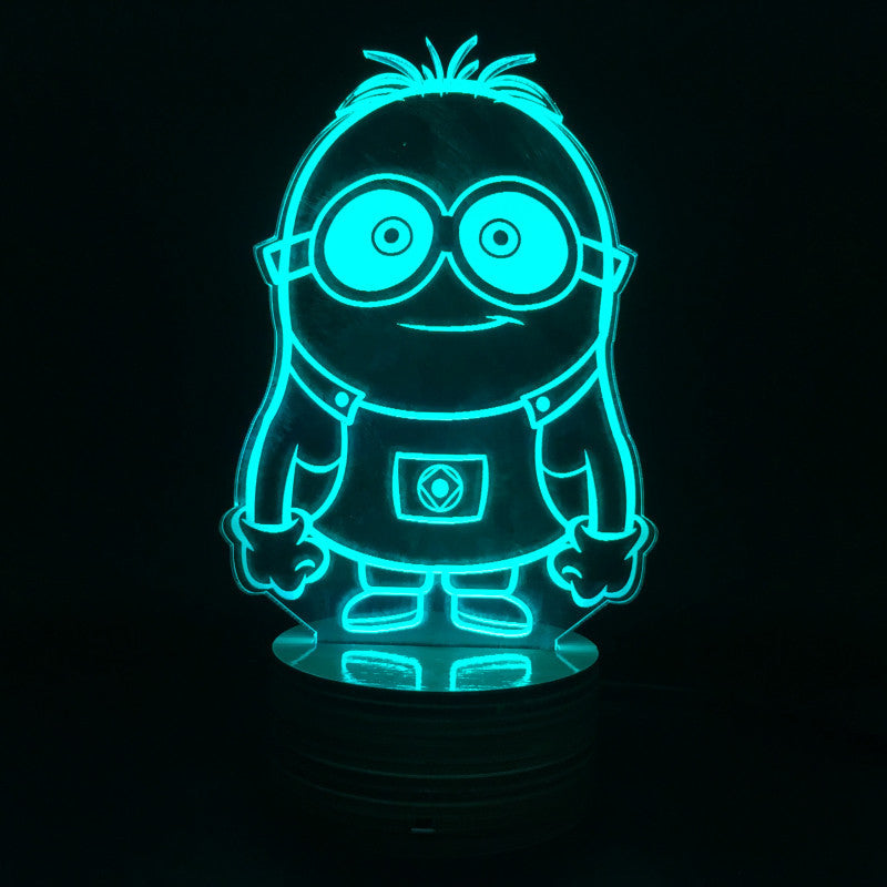 Dave the Minion 3D LED LAMP -  - TheLedHeroes