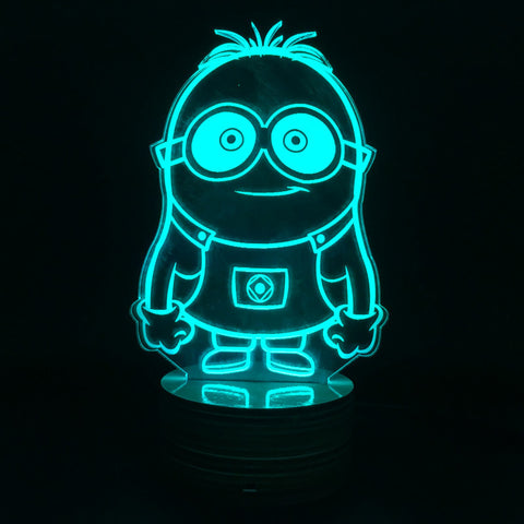 Dave the Minion 3D LED LAMP