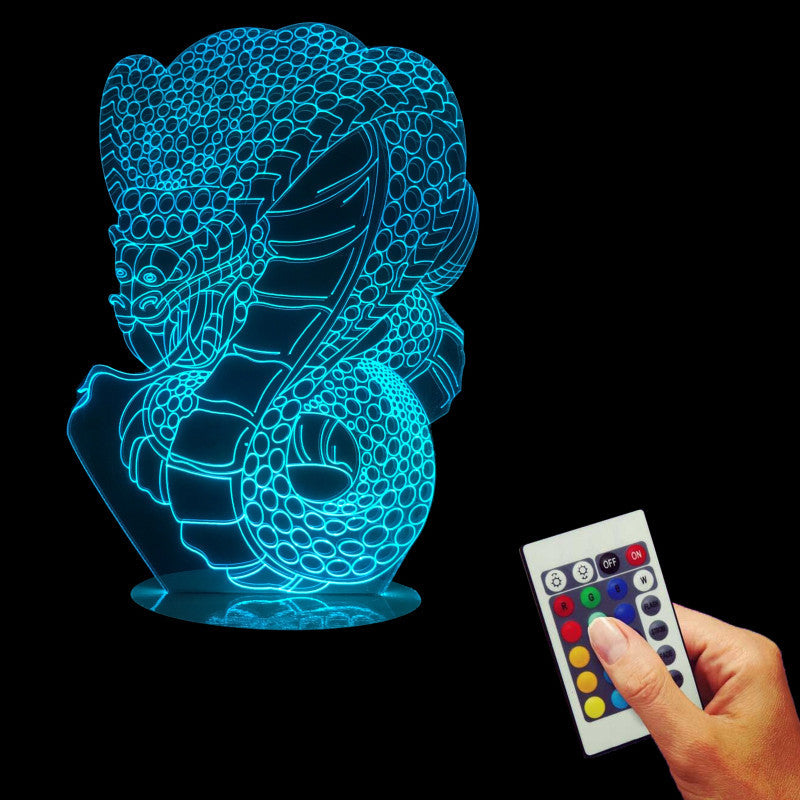 Snake Dragon 3D LED LAMP -  - TheLedHeroes