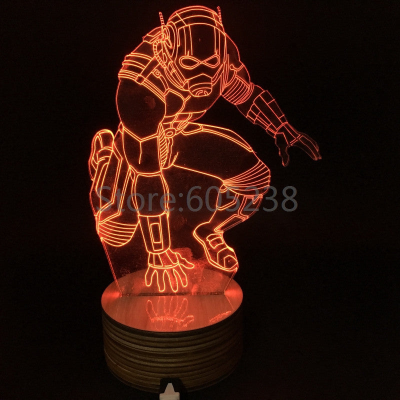Ant-Man 3D LED LAMP -  - TheLedHeroes