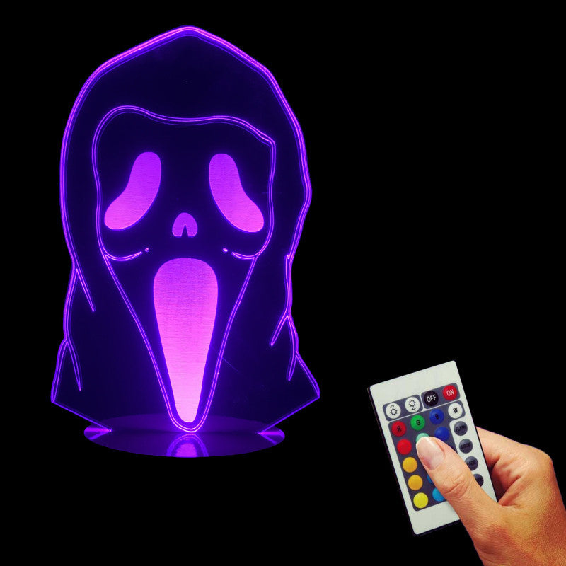 Death Face 3D LED LAMP -  - TheLedHeroes